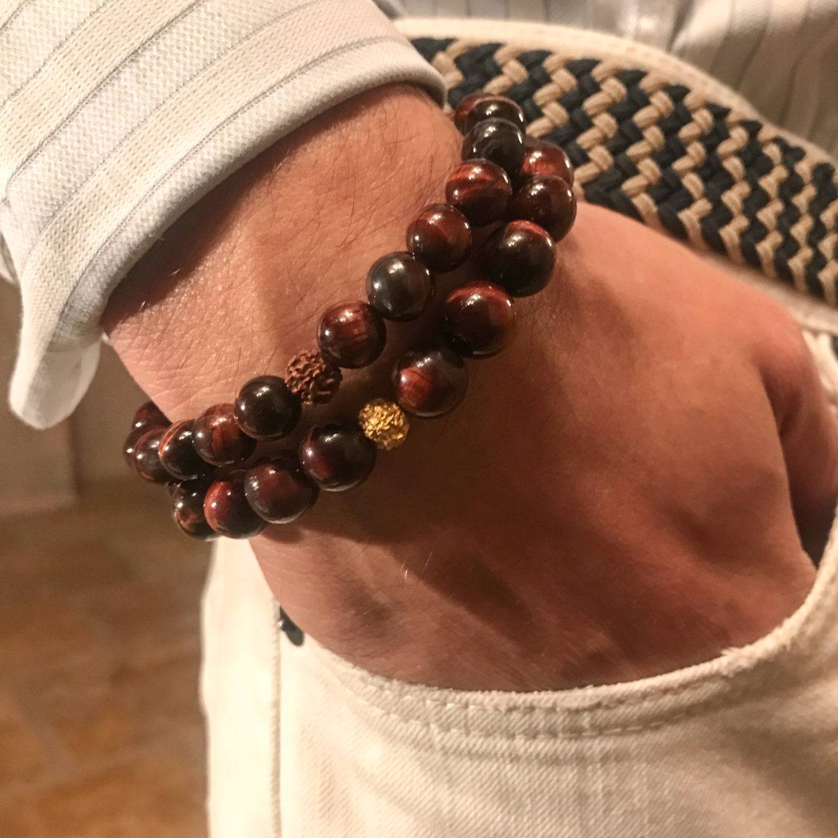 Red Tiger Eye Bracelet